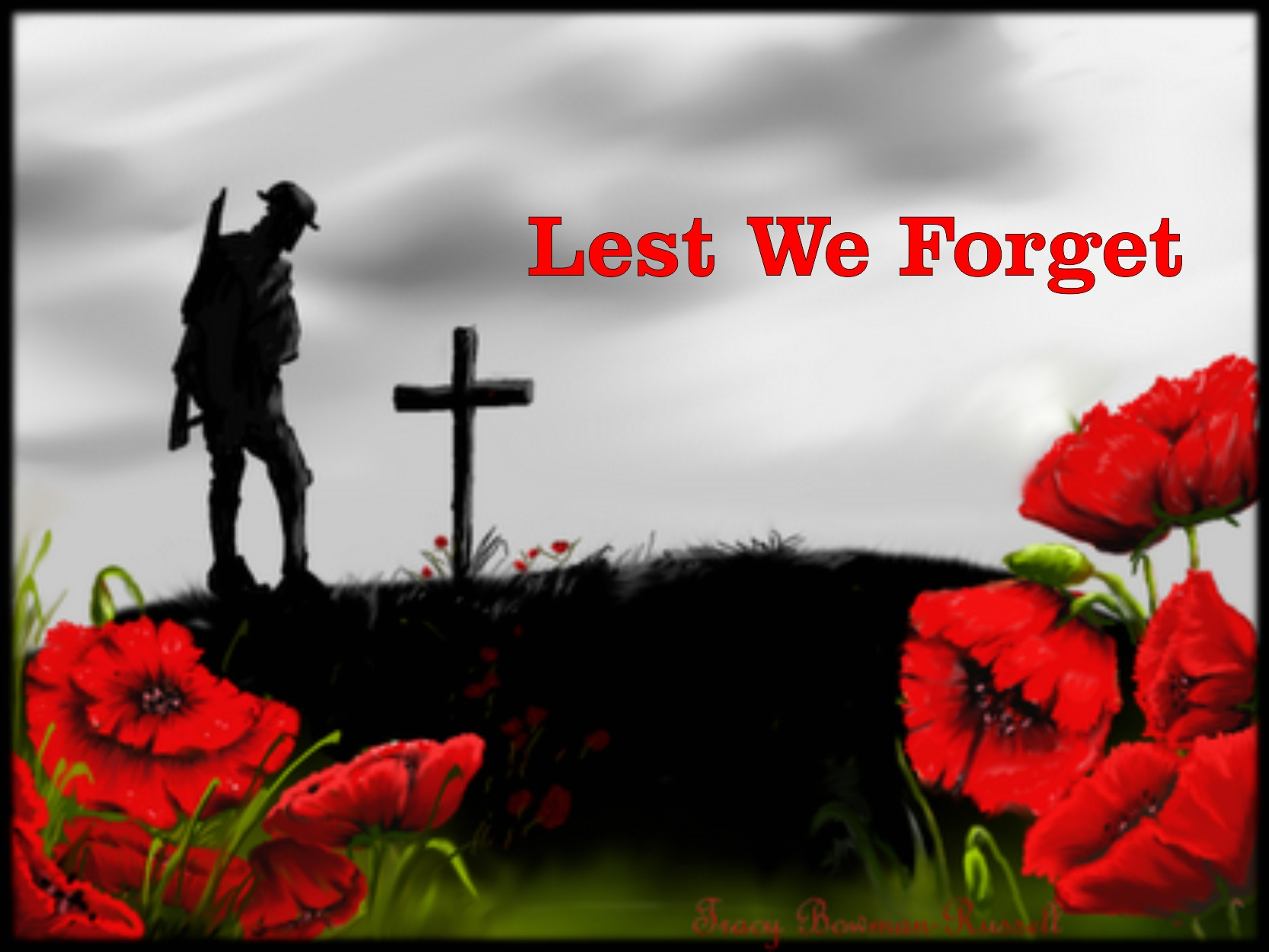 """The importance of Remembrance Day – """"Lest We Forget"""""""