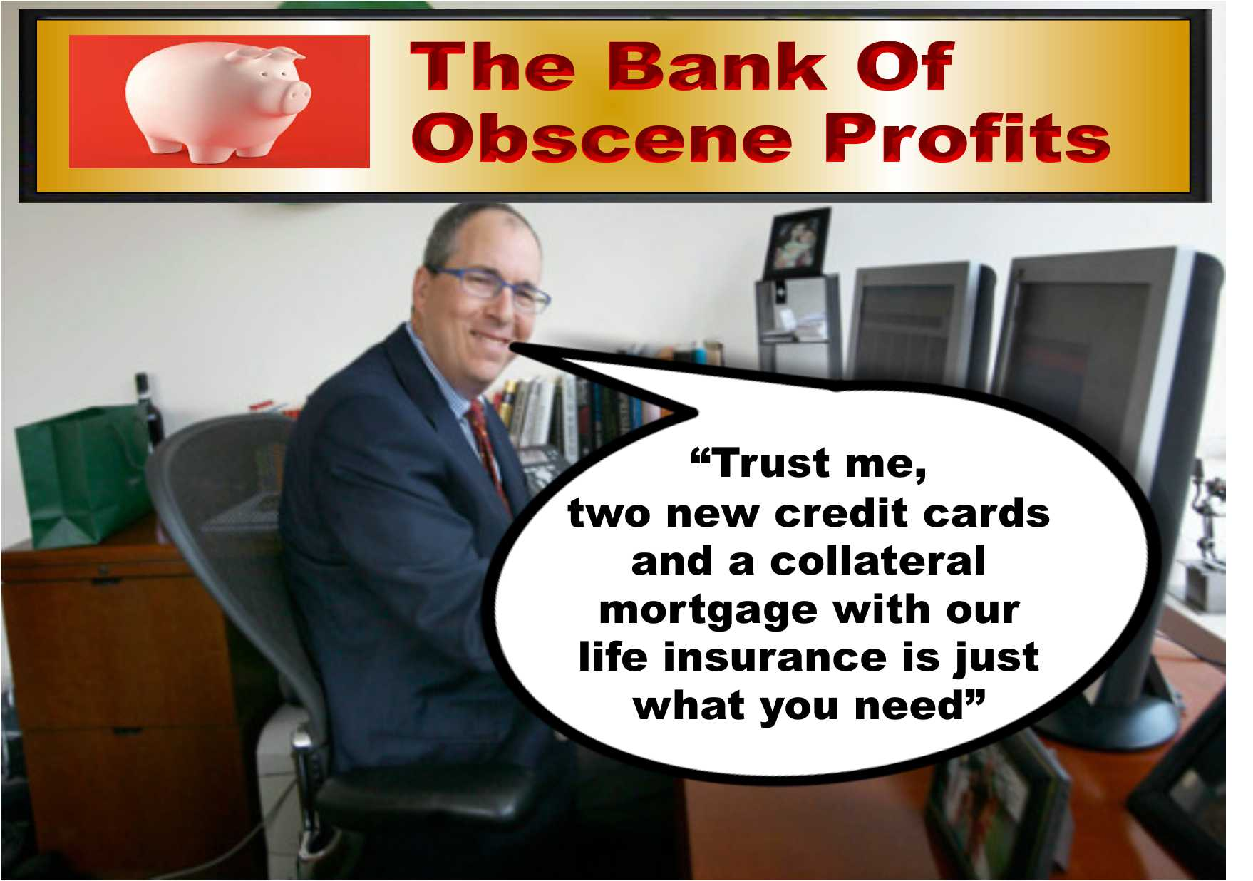 Disturbing situations happening within our main banking institutions